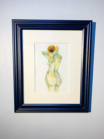 Woman in Watercolor - Brittany Boyer