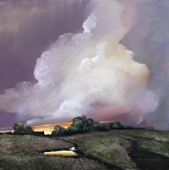 Bright Farm Pond - Alfred Phillips