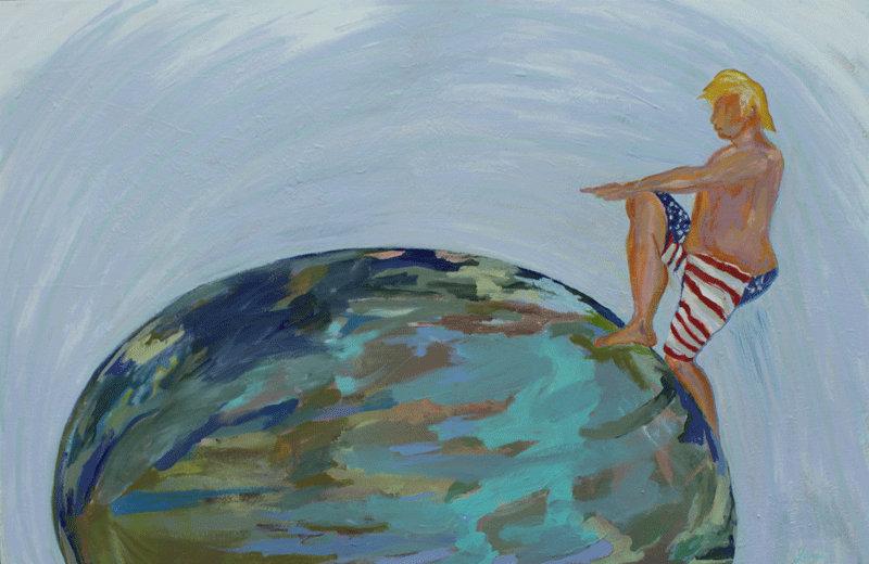 Tromp on Earth - Jane Medved