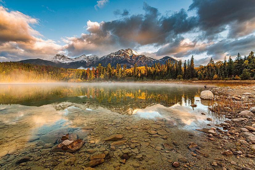 Mountain Lake - Frederick Ross