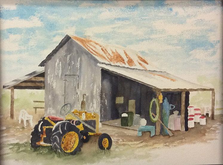Mr. Mann's Barn - Sally Larson