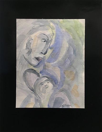 Motherly Concern - Sally Larson