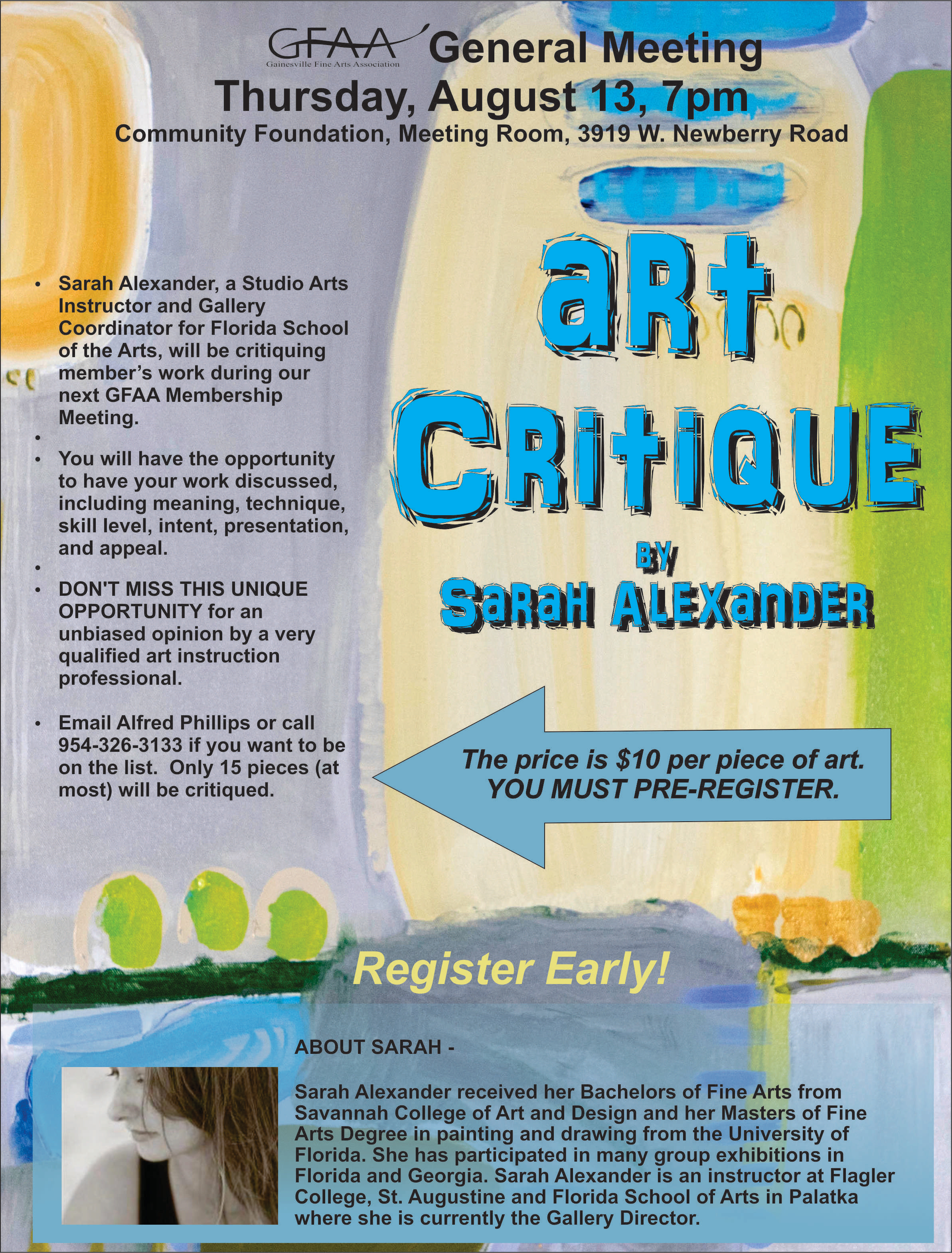 August Meet - Critique