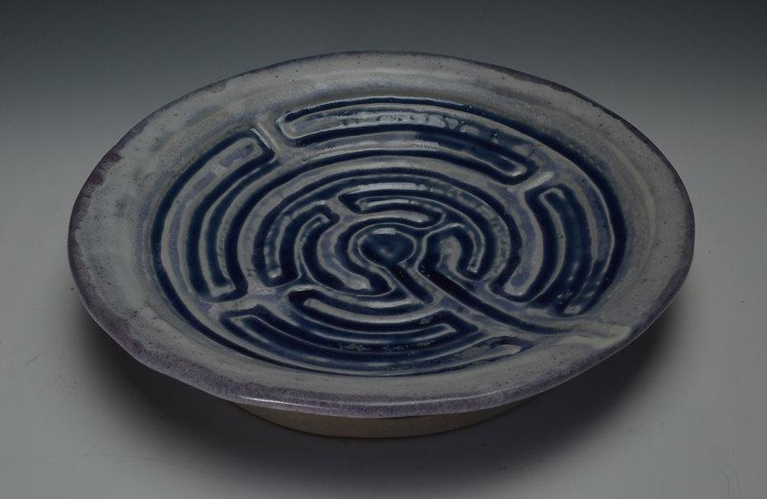 Blue & Purple Finger Maze - Kate Shakeshaft Murray