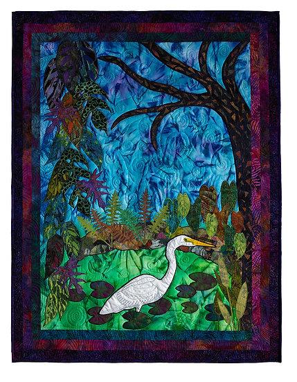 Egret at Caloosahatchee River - Candace McCaffery