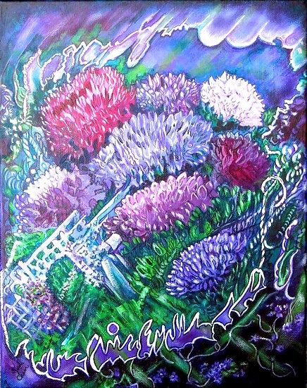 In the Garden - Judi Cain