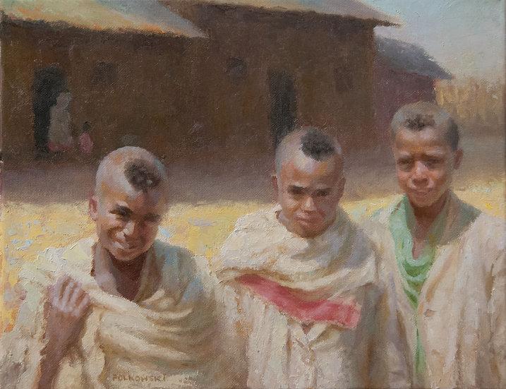 Young Ethiopian Ambassadors - Jane Polkowski