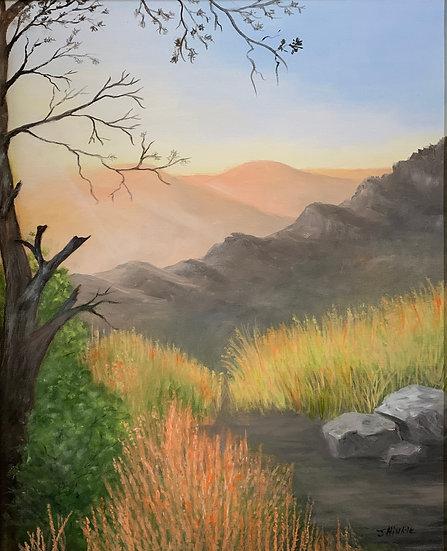 Canyon Morning - Joyce Hinkle