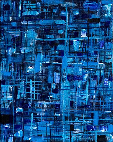 Blue Grid Complex - Michelle Nagri & Peter Senesac