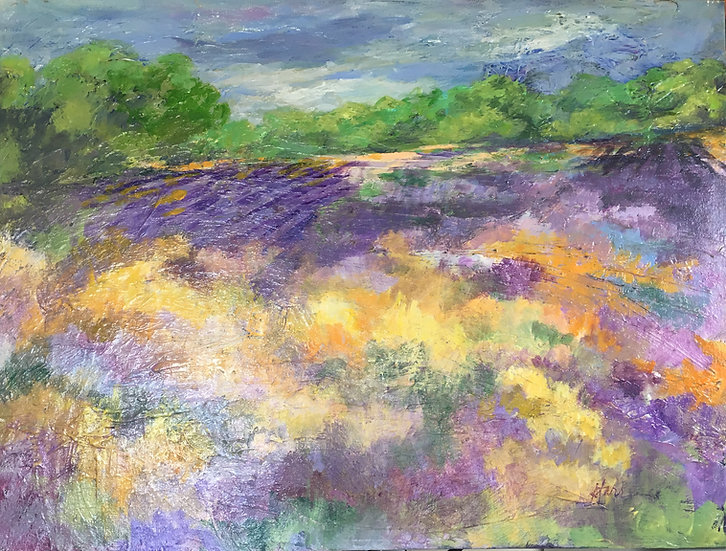 Fields of Lavendar and Gold - Ellen Levinson