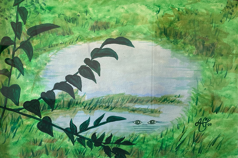 "Lake Pithlachoco (series) Puddle - Anthony F. ""AGee"" Greene"