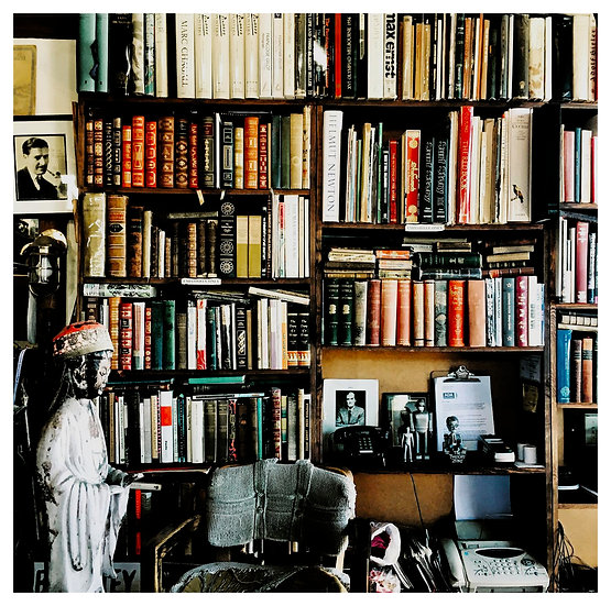 The Bookseller's Office - Nicholas Beers