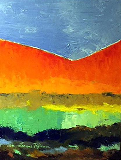 Morning in the Valley - Leanne Pflaum