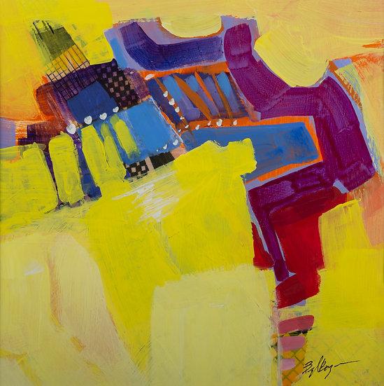 Yellow Shadows - Beryl Bayer