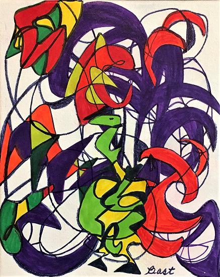 Reptilian Brain - Mary Bast