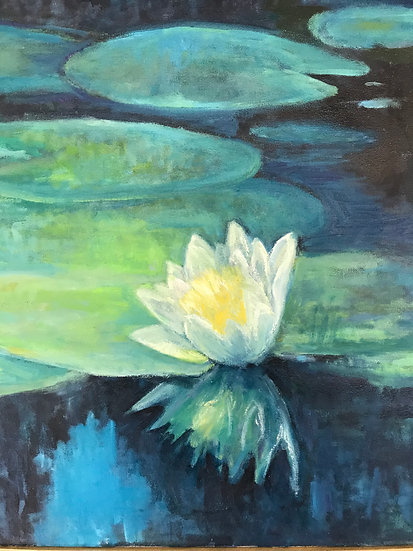 Waterlilies Up Close - Arlene Holmes