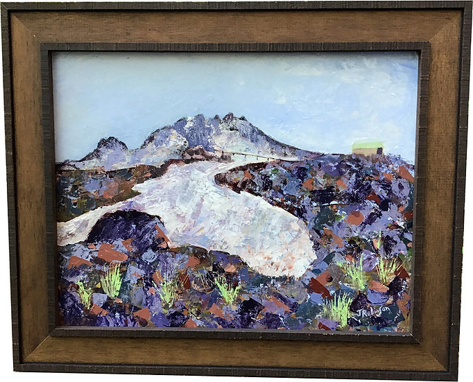Mt. Hood's Palmer Glacier in July - Judy Robinson