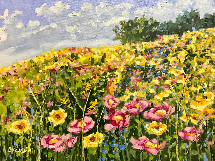 Wildflower Spring - Linda Blondheim