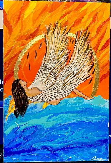 Lady Icarus - Cindy Nguyen
