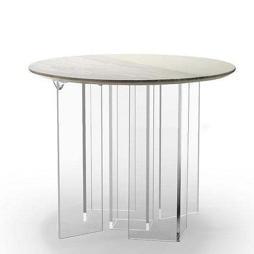 TD ROUND STONE TABLE