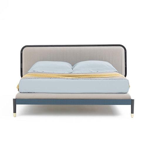 BA BRICH FRAME BED