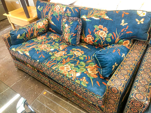 Small Floral Loveseat