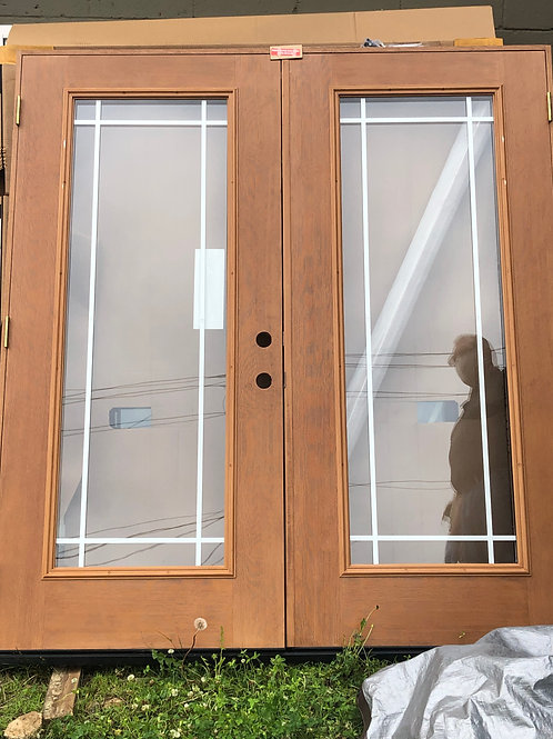 Brand New French Doors