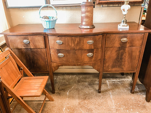 Antique Buffet Table w/ Key