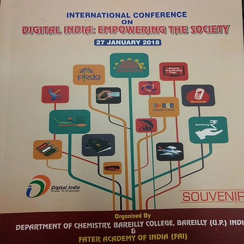 """INTERNATIONAL CONFERENCE ON   """"DIGITAL, INDIA EMPOWERING THE SOCIETY"""""""