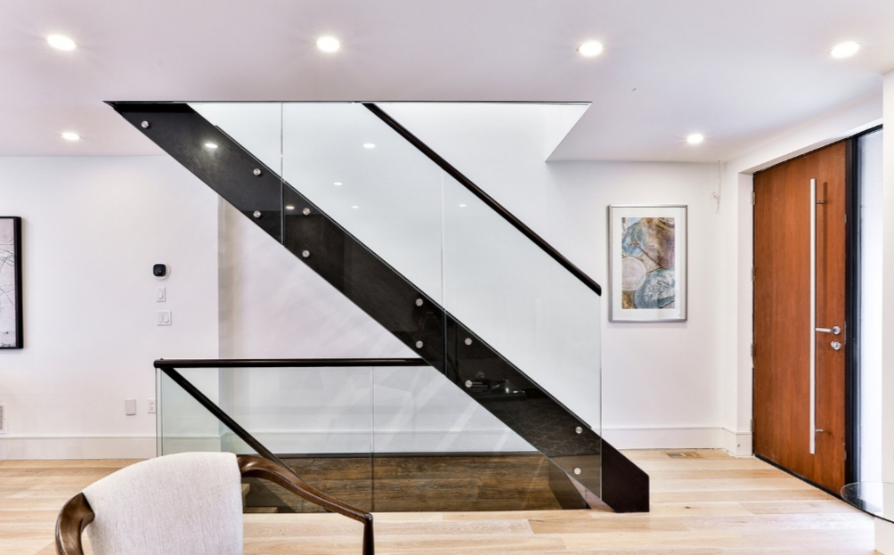 Custom Staircase Open Riser
