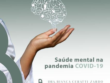 Saúde Mental na pandemia COVID-19