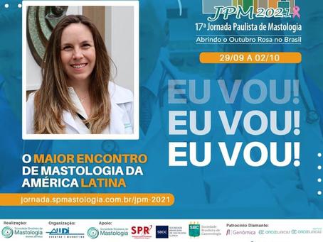 JPM 2021 - O Maior encontro de Mastologia da América Latina - Outubro Rosa 2021