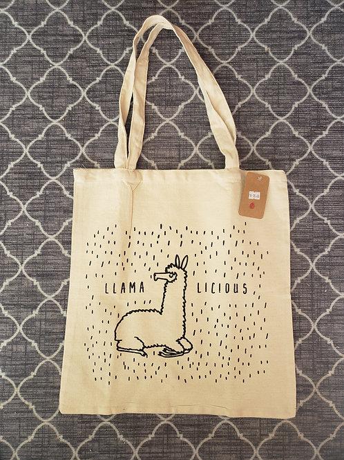 Canvas Lama Hand Bag