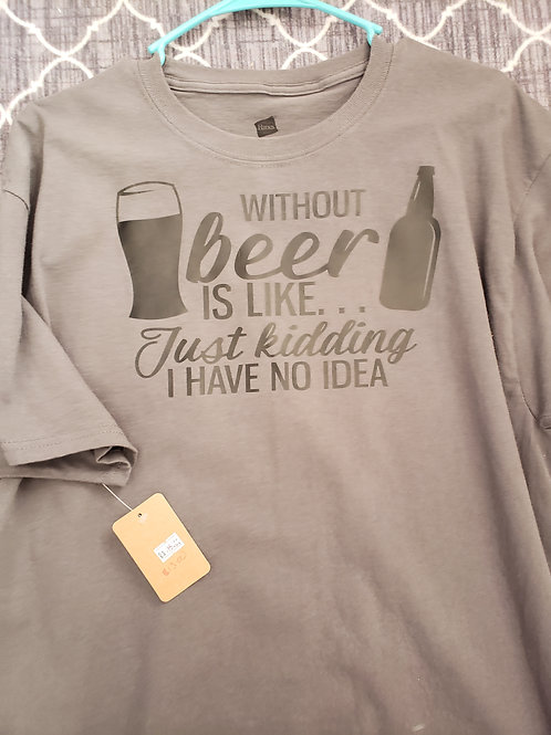 Without Beer is like....
