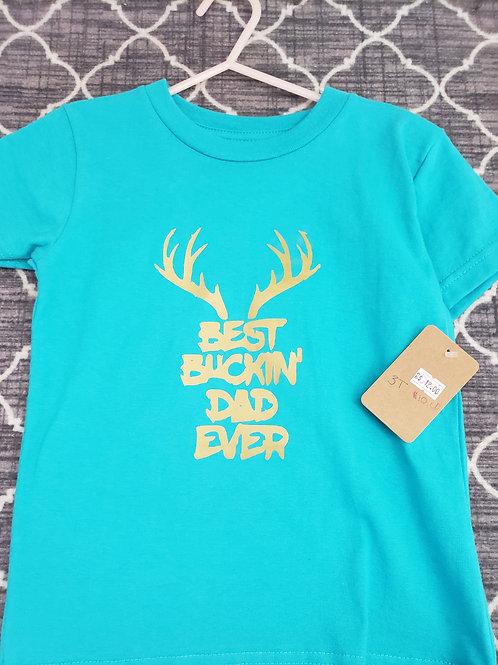 Best Buckin Dad Tshirt