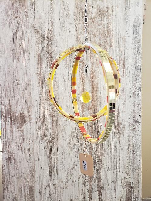 glass/wood spinner