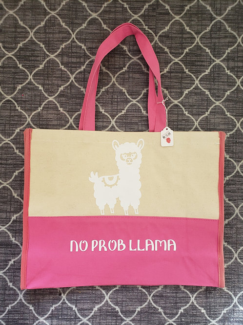 No Prob Llama hand bag