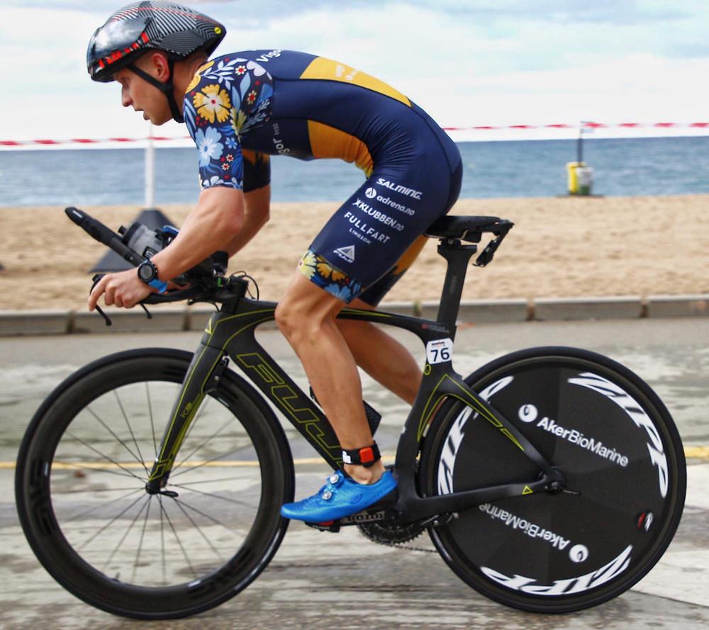 Ut på sykkeldelen full av adrenalin!