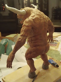 Asterion the minotaur puppet (2).JPG
