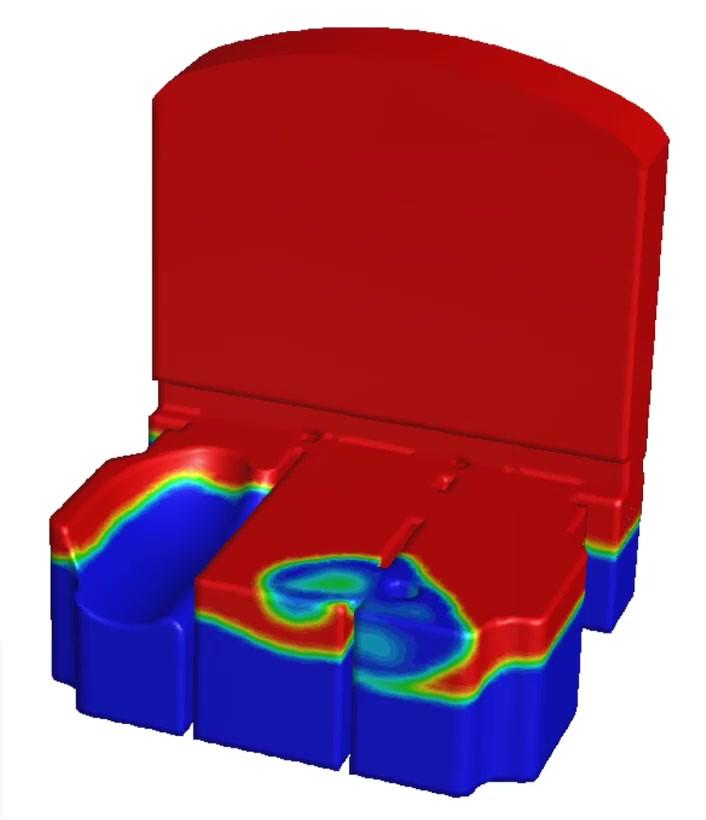 Sloshing analysis using fluid structure interaction