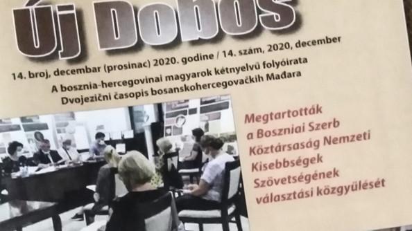 Megjelent az Új Dobos folyóiratunk legújabb száma // Izašao je najnoviji Uj Doboš