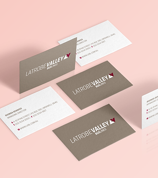 Corporate branding, business cards, stationary for Latrobe Valley Buslines, Melbourne