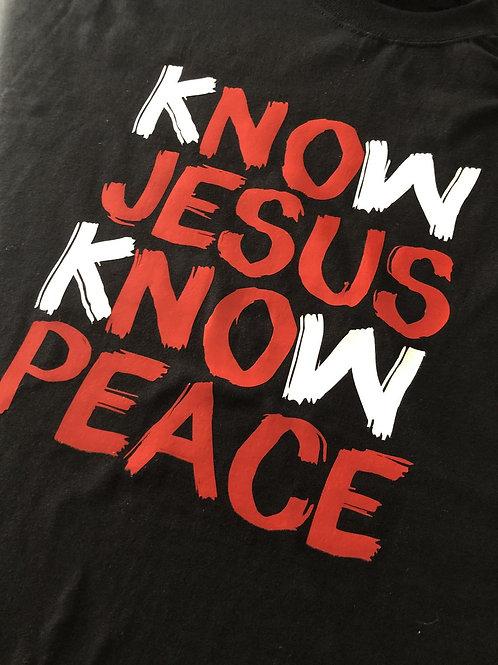 Know Jesus, Know Peace Sweatshirt