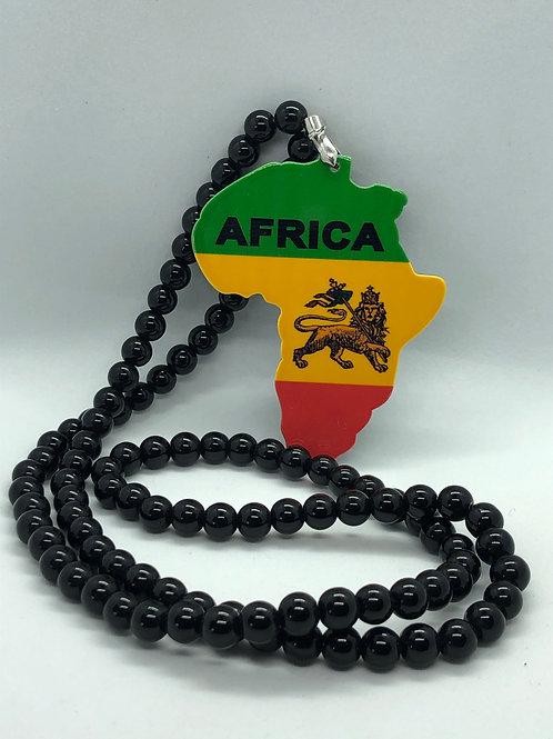 Black Africa Necklace
