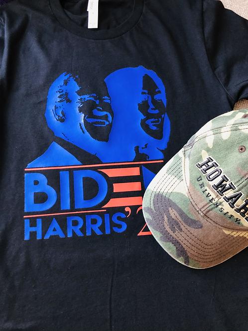 Biden Harris Silhouette