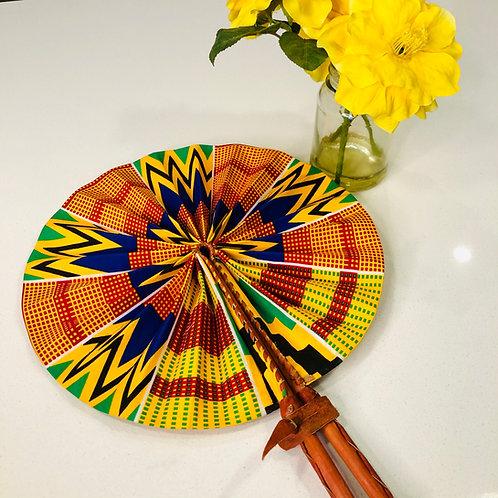 Ankara Hand Fan