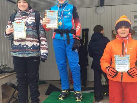 III этап Кубка ДЮСШ «Дубна» по лыжным гонкам «Рождественская гонка»