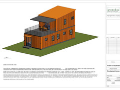 3D Modeling and BIM of a Shipping Container