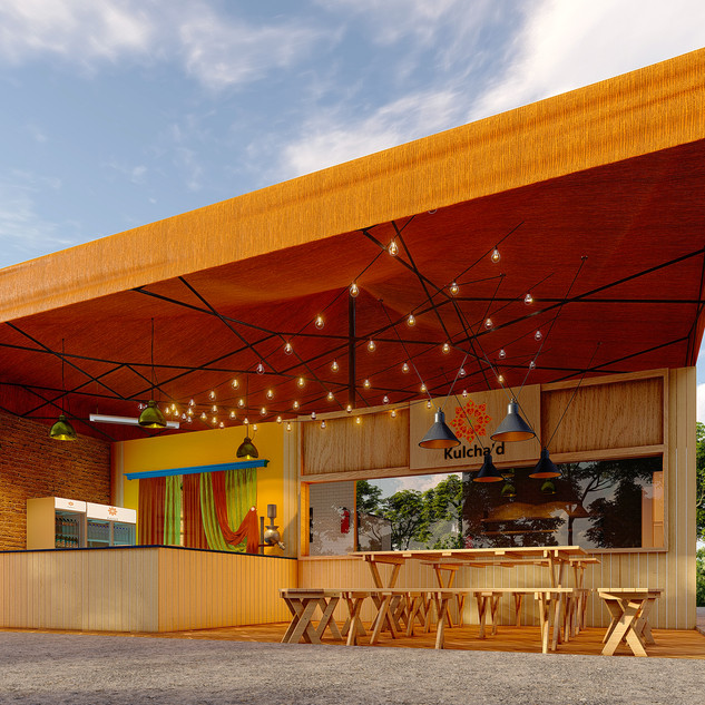KULCHA'D Food Stall