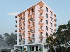 3D Exterior Rendering of Multistoried Apartment Building   Shuprovat & Akashprodip